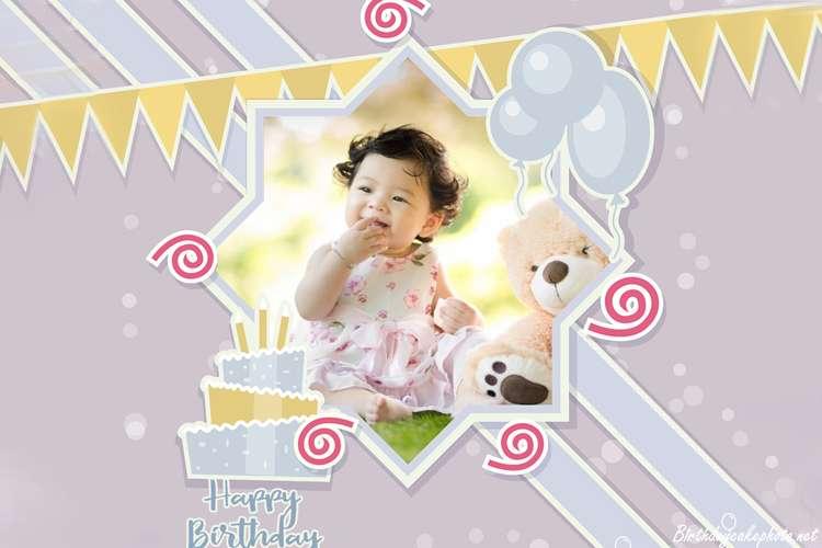 Happy Birthday Kids Photo Frames