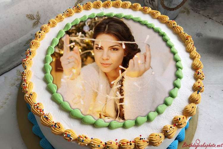 Lovely Birthday Cake Pictures With Photo Frames
